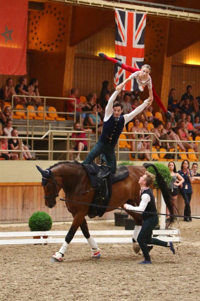 Gbr 2017 British Equestrian Vaulting